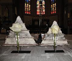 bloemstukken kerk Ardooie 02