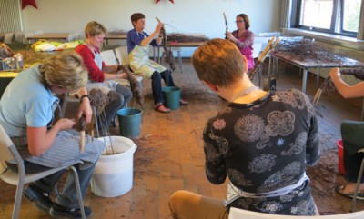workshop reiger berkentakken Gistel tuindecoratie
