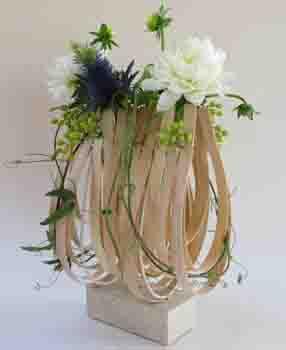 Bloemschikken nieuws de bloemschikschool vzw christine barzeele page 5 - Voorbeeld van tuindecoratie ...