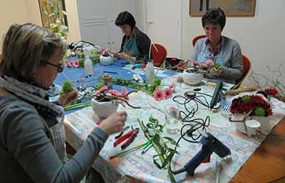 bloemschikken cursus Westrozebeke
