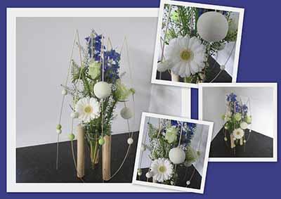 bloemschikken Gistel feest communie Dorine