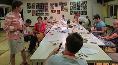 workshop tuindecoratie vlinder Sijsele