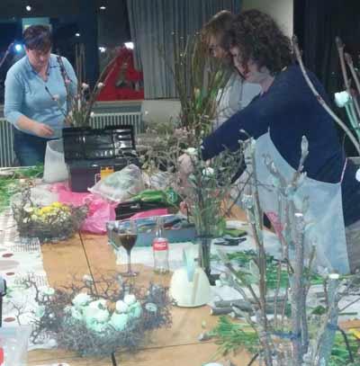 bloemschikken Gistel Oostende Sijsele Brugge Ardooie Roeselare Pasen