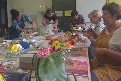 bloemschikken Gistel Ardooie Sijsele Brugge Oostende Roeselare