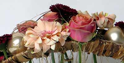 bloemschikken kerstmis tafelstuk oostende gistel ardooie roeselare sijsele brugge