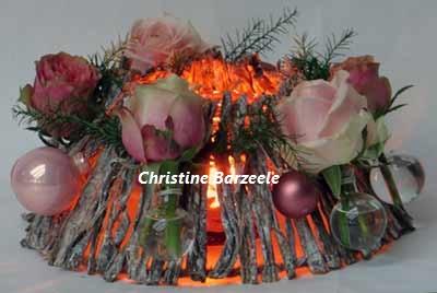 bloemschikken krans kerst oostende gistel ardooie roeselare brugge sijsele