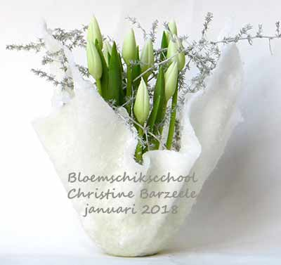 bloemschikken winter januari sijsele brugge oostende gistel roeselare ardooie