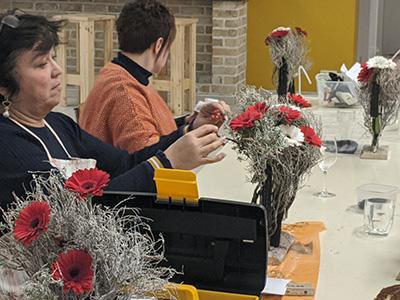 bloemschikken winter gistel oostende brugge sijsele ardooie roeselare maldegem