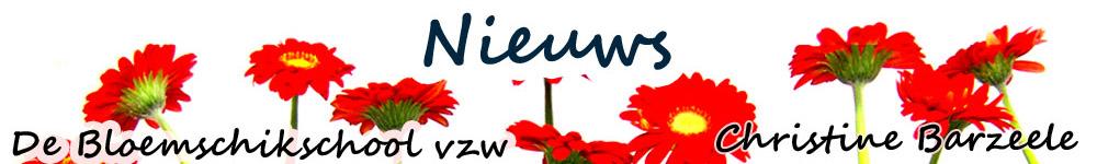 Nieuws – De Bloemschikschool vzw – Christine Barzeele